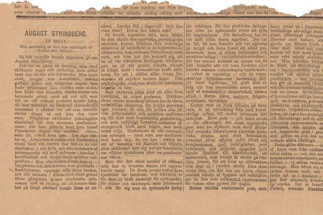 Denna artikel publicerades ursprungligen den 2 maj 1897.