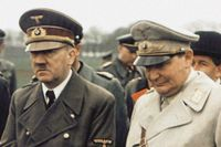 Adolf Hitler och Hermann Göring, 1944.
