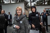 Catrin Fransson, vd för Svensk Exportkredit, och Karin Apelman, generaldirektör för den svenska Exportkreditnämnden deltog i Business Swedens resa till Iran.