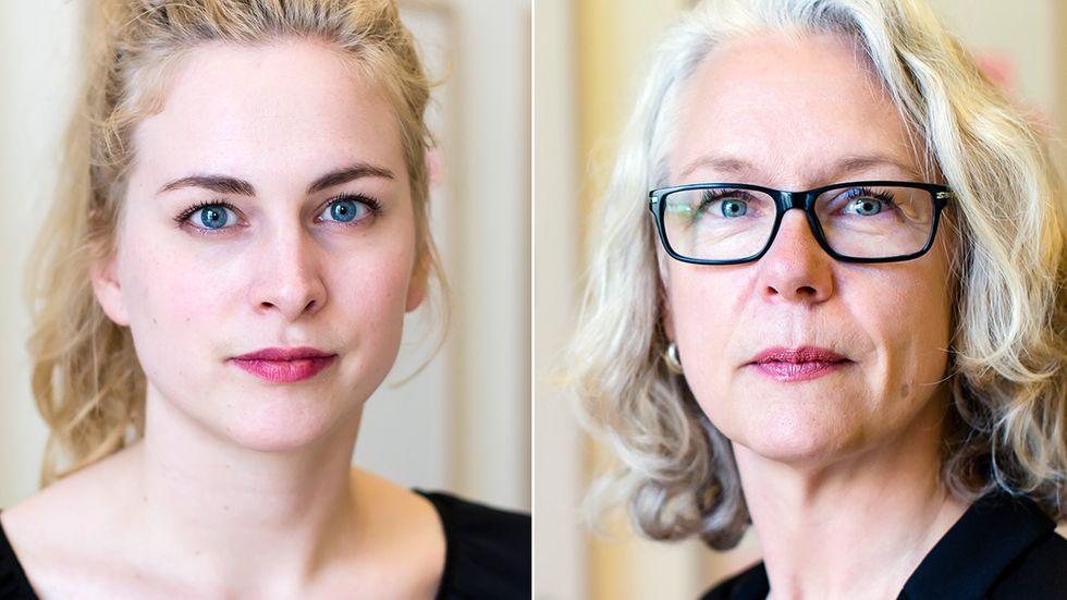 Clara Berglund och Anna Giotas Sandquist, Sveriges Kvinnolobby.