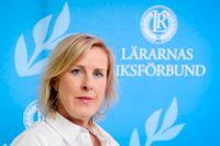 Åsa Fahlén, ordförande för Lärarnas Riksförbund.