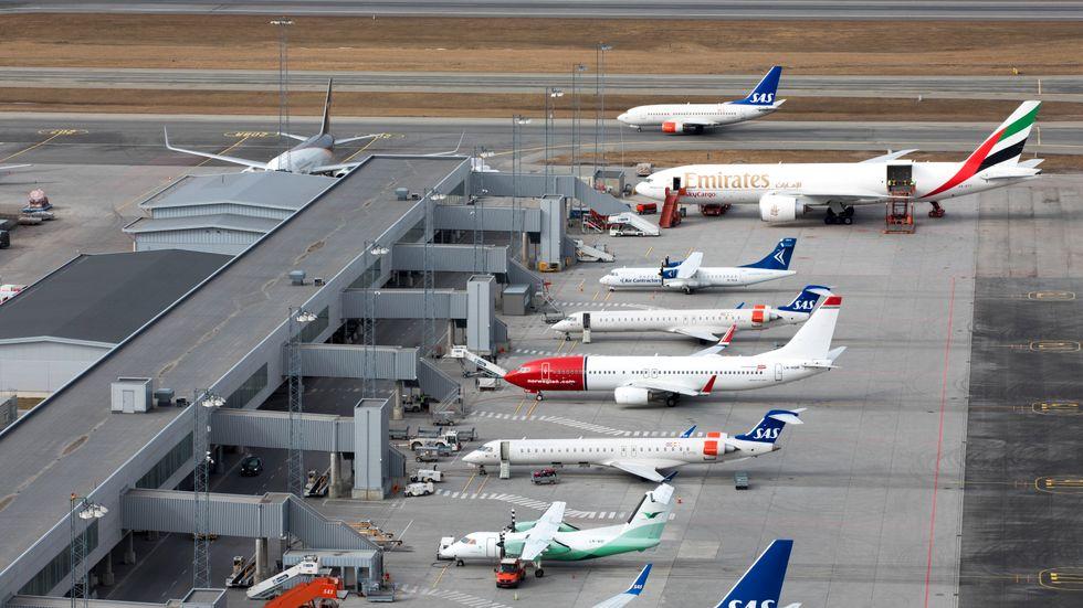 Flygbranschen ser ljust på framtiden. Arkivbild.