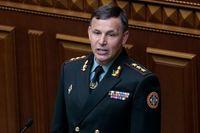 Valerij Heletej är ny försvarsminister.