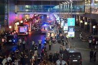 Istanbuls internationella flygplats attackerades på tisdagkvällen.
