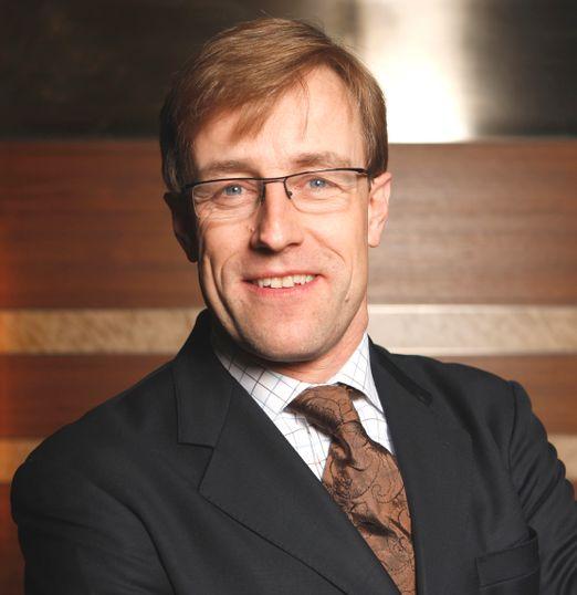 Niels Jörgen Larsen, chef för Danske Finans.