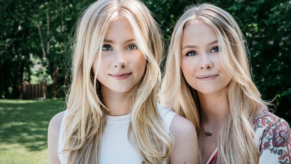 Systrarna har fem miljoner följare på Tiktok, nästan en miljon följare på Instagram och 700 000 prenumeranter på Youtube.