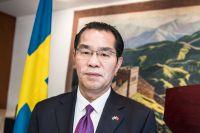 Gui Congyou, Kinas ambassadör i Sverige.