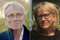 Björn Fries och Christina Gynnå Oguz.