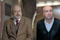 Jamal Khashoggi (tv) mördades utanför det saudiska konsulatet i Istanbul. På fredagen leder den svenske journalisten och författaren en manifestation utanför Saudiarabiens ambassad i Stockholm.