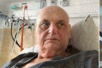Göran Greider skriver dikter på sjukhuset.