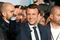 Emmanuel Macron. Blir han Frankrikes president?