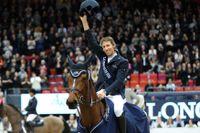 Henrik von Eckerman på Mary Lou vann Göteborgs världscuptävling i hoppning både 2017 och 2018. I år går cupfinalen i Göteborg – samtidigt som tävlingsveckan omges av extra säkerhetsgärder efter vinterns dödliga hästvirus. Arkivbild.