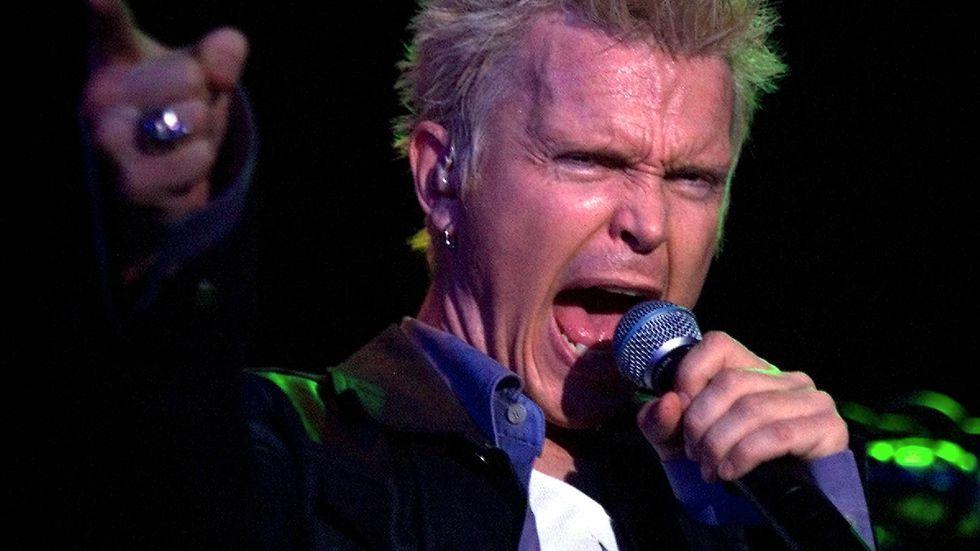 Billy Idol släpper fyra nya låtar. Arkivbild.