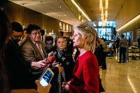 Anna Maria Corazza Bildt lämnades utanför Moderaternas EU-lista.