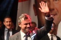 Högerpopulisten Norbert Hofer kandiderade till presidentposten i valet den 22 maj.