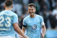 Anders Lindblad tror att Markus Rosenberg och de andra i Malmö FF tar SM-guld.