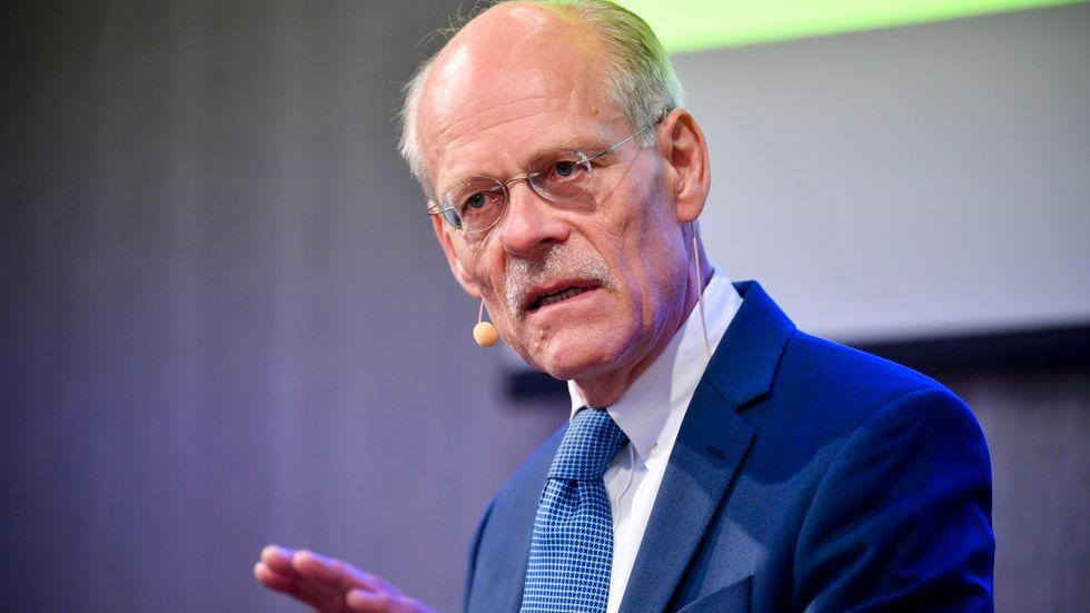 Riksbankschef Stefan Ingves har ingen brådska med att höja räntan. Arkivbild.