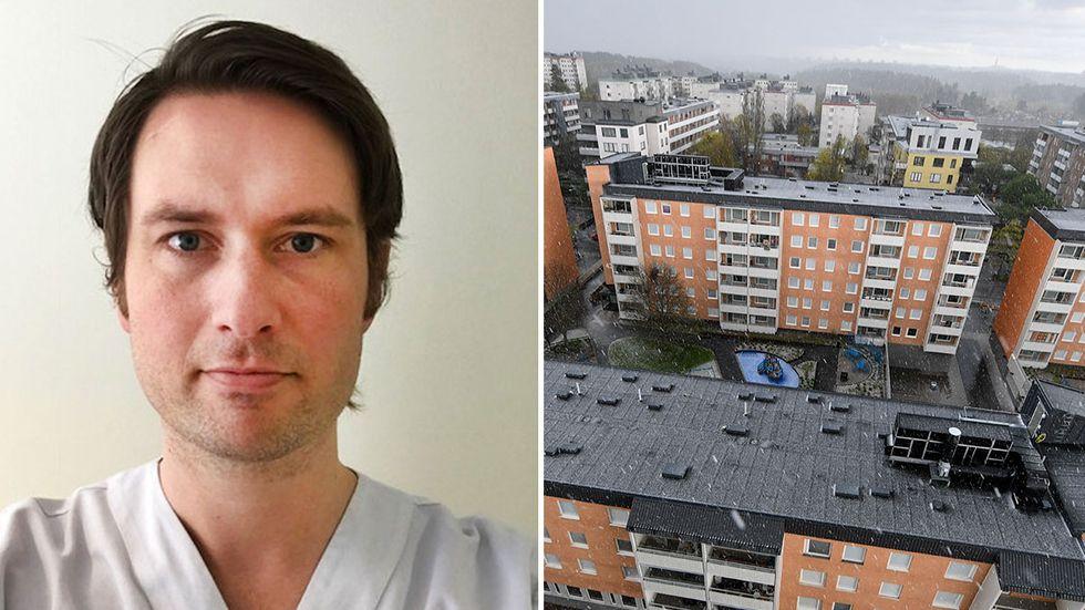 Magnus Isacson, ordförande för Svensk förening för allmänmedicin.