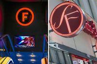 SF:s klassiska logotyp har bytts ut mot Filmstadens nya.