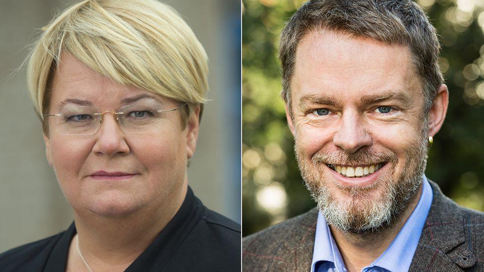 Monica Widman Lundmark ordförande Studieförbunden David Samuelsson