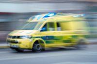 En person har förts till sjukhus efter att ha upptäckts i vattnet i Limhamn. Arkivbild.