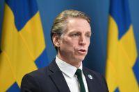 Per Bolund, miljö- och klimatminister (MP). Arkivbild.