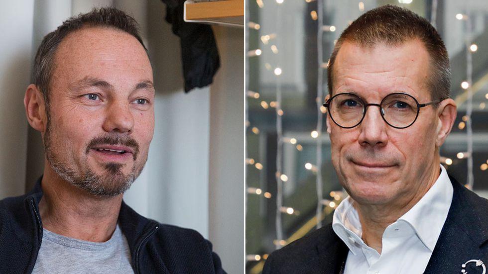 Niklas Arnberg och Fredrik Elgh.