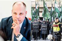 Justitie- och inrikesminister Morgan Johansson (S)  säger att nazisterna i NMR:s våldsbrott oroar.