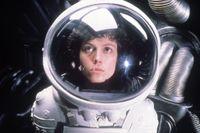 Sigourney Weaver i klassikern Alien från 1979.