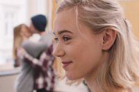 """Nora/Noora är ett namn som kommer. Här Josefine Frida Pettersen som Noora i  hyllade tv-serien """"Skam""""."""