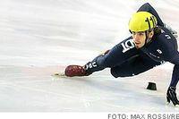Jagad stjärna. Apolo Anton Ohno flyter fram på rinken i Bormio. Amerikanen ska försöka försvara sitt OS-guld på 1 500 meter från Salt Lake City. Och samtidigt fly den värsta uppmärksamheten. Inför VM var Ohno för påpassad.