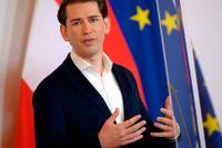 Österrikes förbundskansler Sebastian Kurz får bakläxa från EU för sitt barnbidragssystem. Arkivfoto.