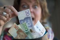 En eller flera vinnare kammade hem en halv miljard på Eurojackpot. Arkivbild.