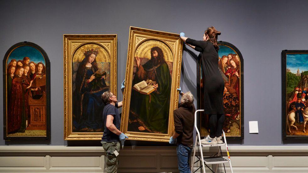 """""""Van Eyck. An optical revolution"""" på Museum voor Schone Kunsten i Gent är den mest omfattande Jan van Eyck-utställningen någonsin."""