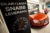 Bilförsäljningen i Europa ökade kraftigt i maj. Arkivbild