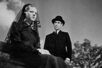 Georg Rydeberg som doktor Glas i Rune Carlstens filmatisering från 1942.