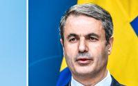 Tidigare Volvochefen Leif Johansson och näringsminister Ibrahim Baylan.