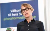 Arbetsförmedlingens analyschef Annika Sundén slår ett slag för utbildning i kristider. Arkivbild.