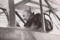 Gabriele D'Annunzio flyger över Wien i augusti 1918.