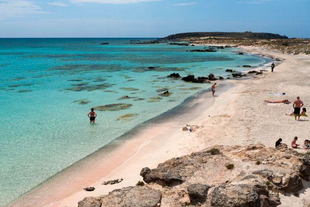Elafonissi omnämns ibland som Medelhavets Maldiverna.