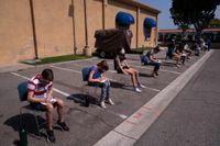 I Kalifornien, där bilden är tagen, är vaccinationen av barn och ungdomar redan igång. Arkivbild.