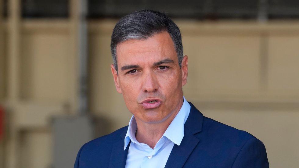 Spaniens premiärminister Pedro Sánchez säger att regeringen ser allvarligt på hatbrotten som skakat landet. Arkivbild.