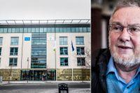 Vid gripandet av mannen hittades handgranater, en bomb och ett automatvapen. Att mannen fick vakta EU:s smittskydd ser professorn som allvarligt.
