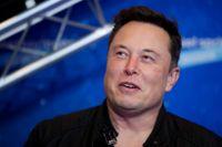 Tesla-vd:n Elon Musk. Arkivbild.