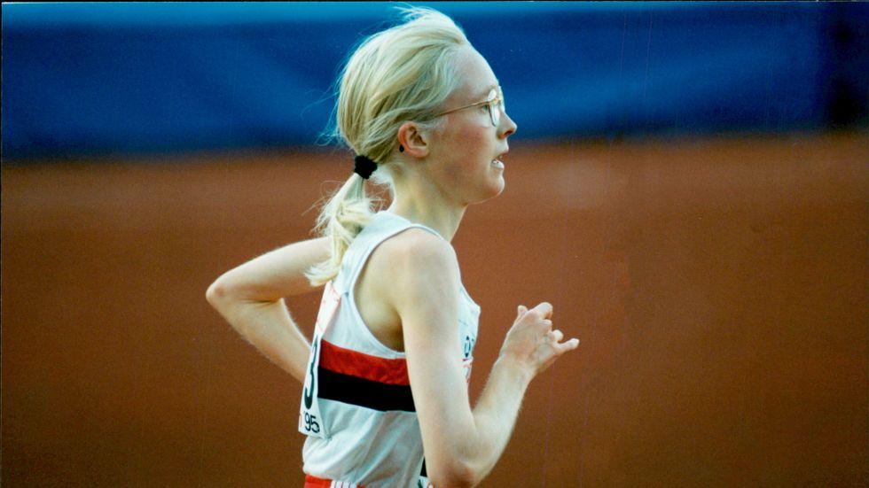 Sara Wedlund slog igenom och blev rikskänd 1995.