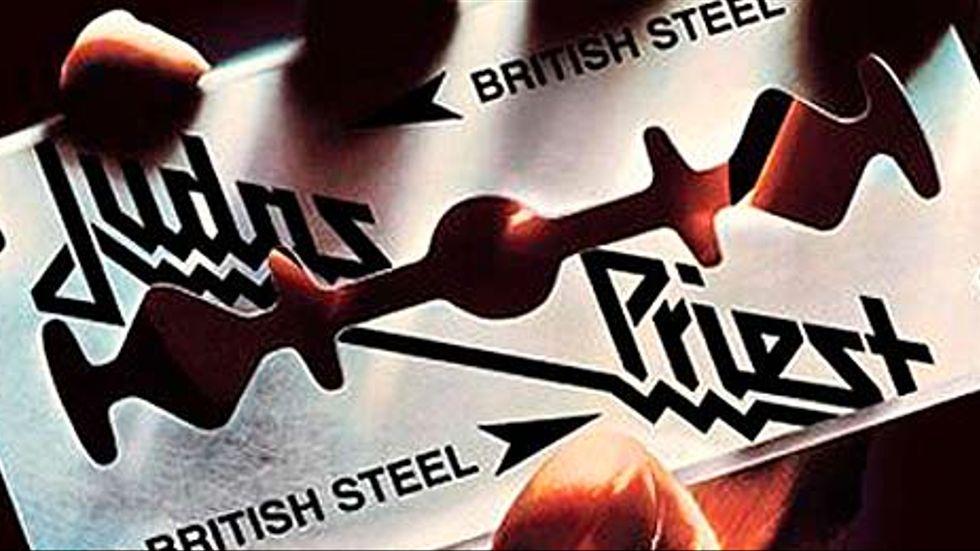Onslaget till albumet British Steel, som Judas Priest gav ut 1980. Här finns soundtracket till Kristdemokraternas omstöpning.