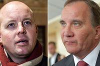 Björn Söder och Stefan Löfven.