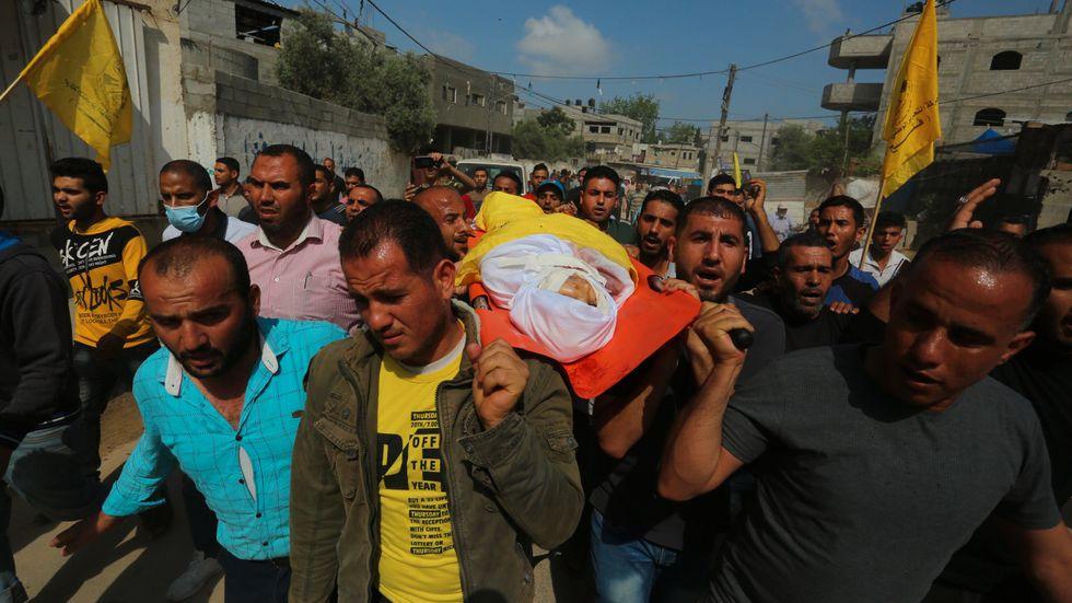 11-årige Hussein Hamad är ett av den senaste konfliktens offer.