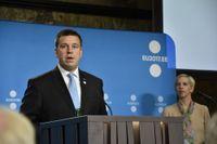 Estlands premiärminister Jüri Ratas har behövt hantera flera kriser under denna mandatperiod. Arkivbild från 2017.
