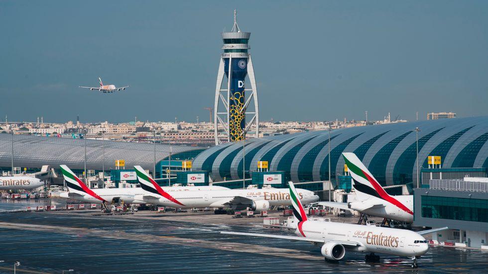 Storbritannien stoppar världens populäraste internationella flyglinje. Arkivbild från Dubai.